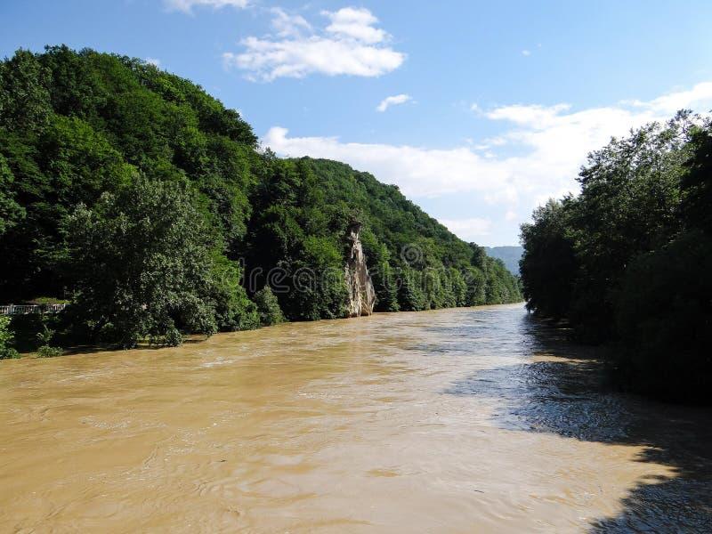 Río Psekups imagen de archivo