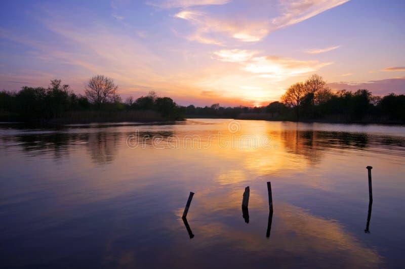 Río Shannon fotografía de archivo