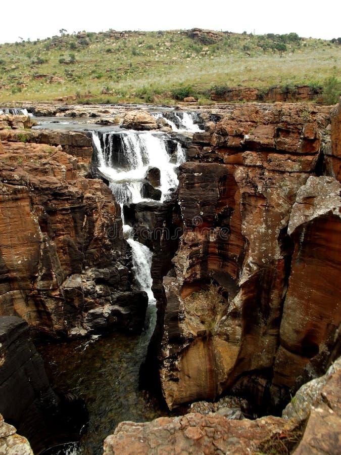 Río Suráfrica de Blyde de los agujeros de la suerte del ` s de Bourke imagen de archivo