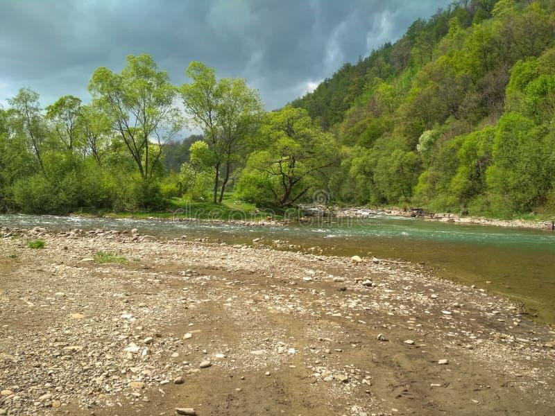Río Svicha imagen de archivo libre de regalías