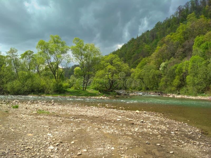 Río Svicha foto de archivo