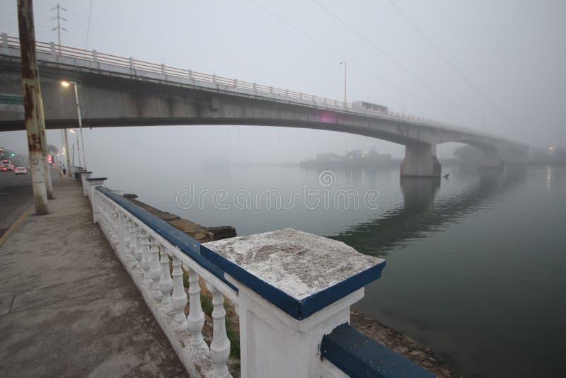 Río Tuxpan en México fotos de archivo libres de regalías