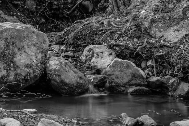 Río Ulu Uzen en Alushta crimea imagen de archivo libre de regalías