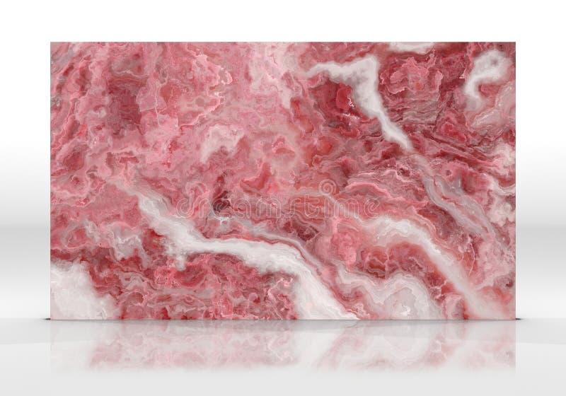 Różana kwarc płytki tekstura fotografia stock