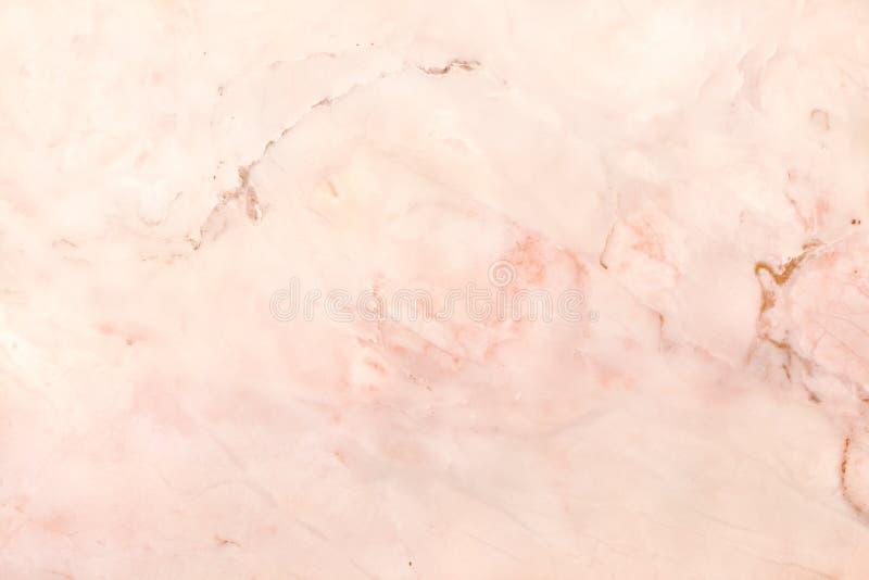 Różana złoto marmuru tekstura w naturalnym wzorze z wysoka rozdzielczość dla tła, płytki dryluje podłoga zdjęcia stock
