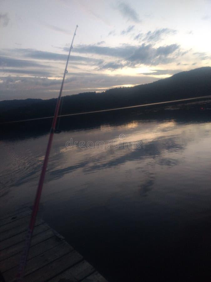 Różany jezioro, Idaho zdjęcia stock