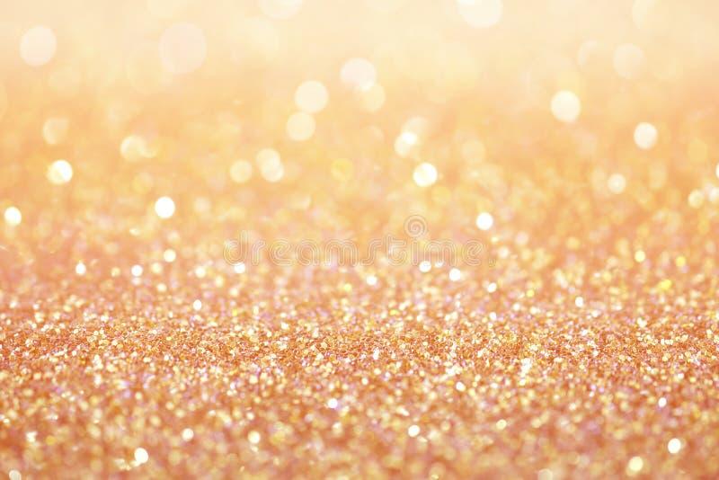 Różany złoto menchii pyłu tekstury abstrakta tło zdjęcia royalty free