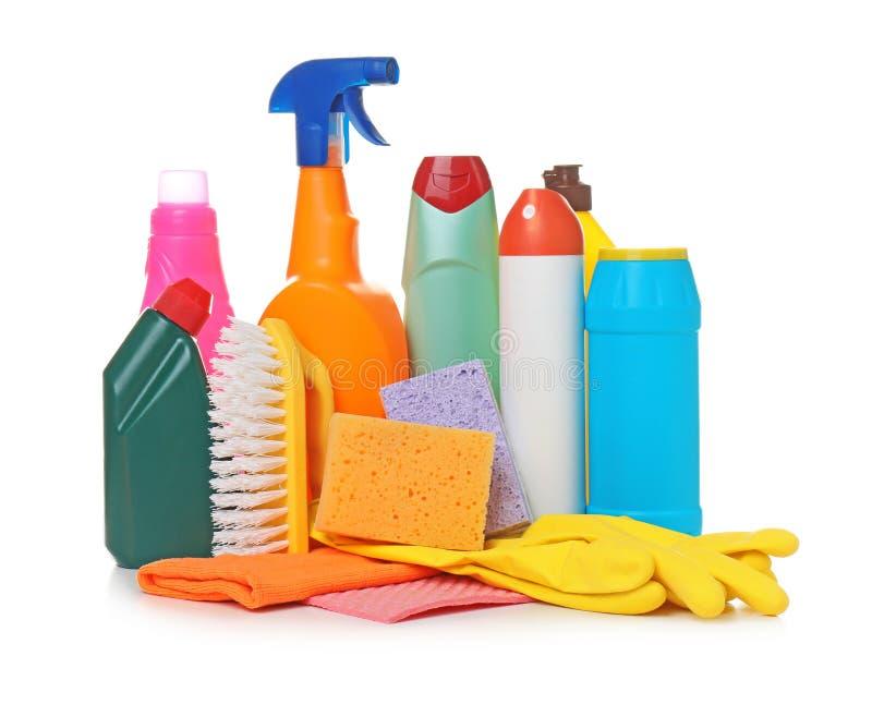 Różne cleaning dostawy zdjęcie stock