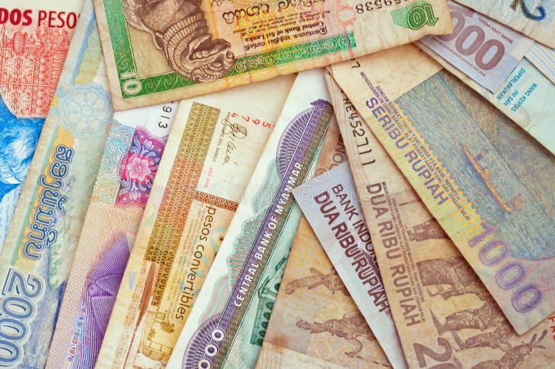 Różne waluty obraz stock
