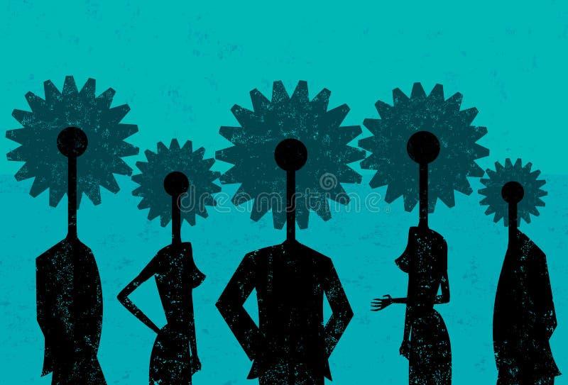 różne zespół jednostek gospodarczych ilustracji