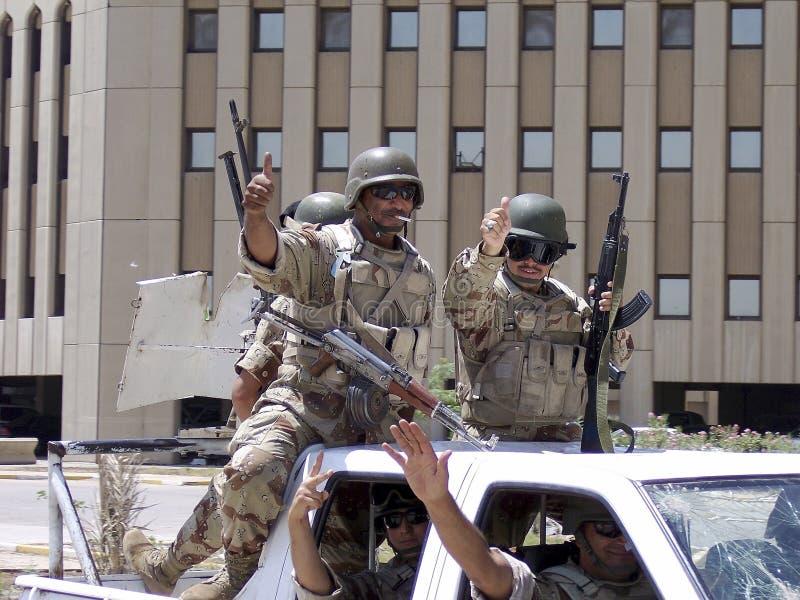 Różni żołnierz rękojeści osobistych spraw ludzie zdjęcia stock
