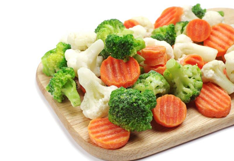 Różni marznący warzywa fotografia stock