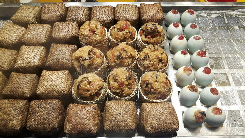 Różni ryżowi torty zdjęcia royalty free