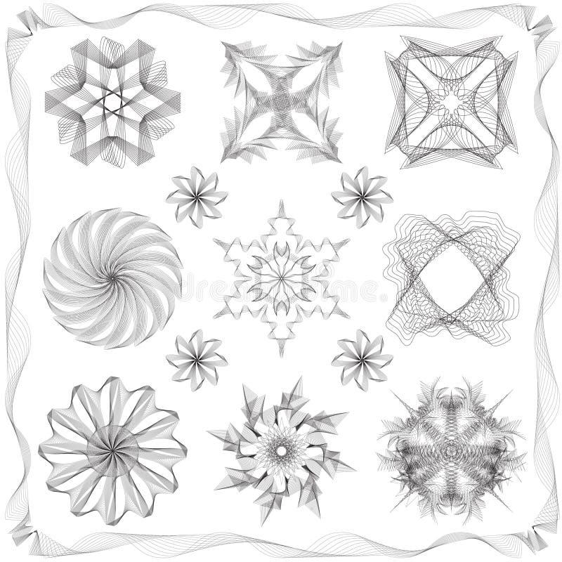 Różni stylowi projektów elementy ilustracji