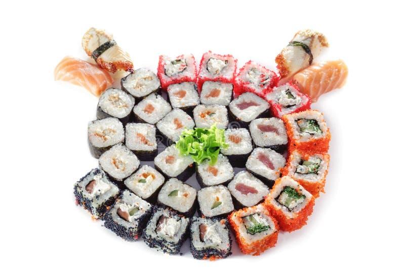 Różni typ sushes zdjęcie stock