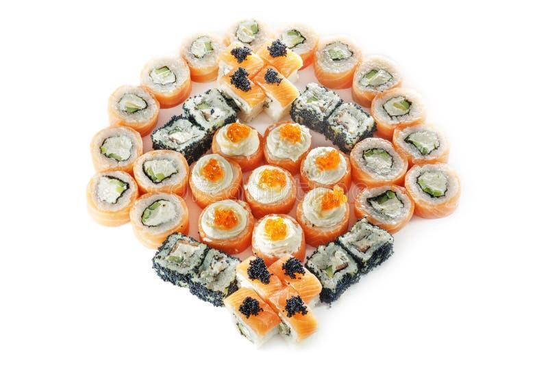 Różni typ sushes zdjęcie royalty free