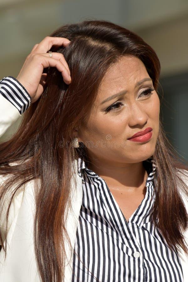 Różnorodna Biznesowa kobieta I zamieszanie Jest ubranym kostium fotografia stock