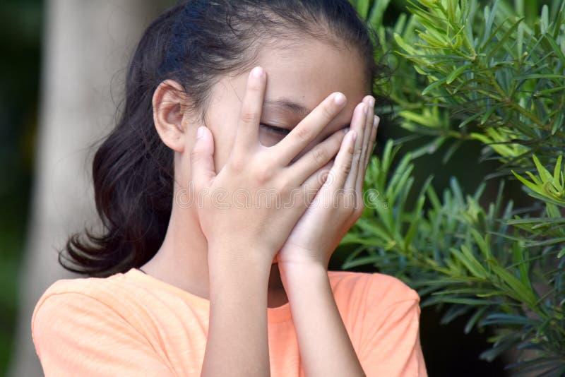 Różnorodna dziewczyna I strach zdjęcie royalty free