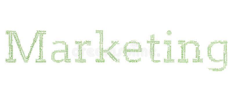 Różnorodna zieleń formułuje literować out wprowadzać na rynek ilustracji