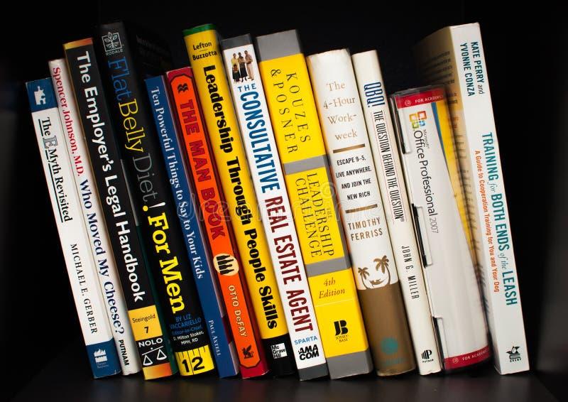 Różnorodne książki zdjęcia stock