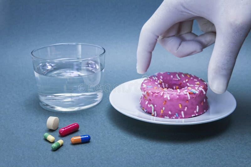 Różnorodne medycyny zwalczać cukrzyce obrazy stock