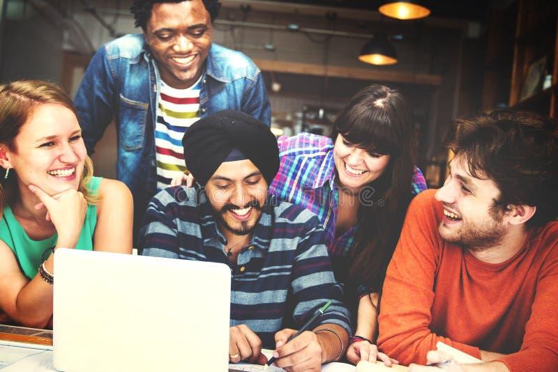 Różnorodni architekta Grupowego Pracującego pojęcia ludzie zdjęcie stock