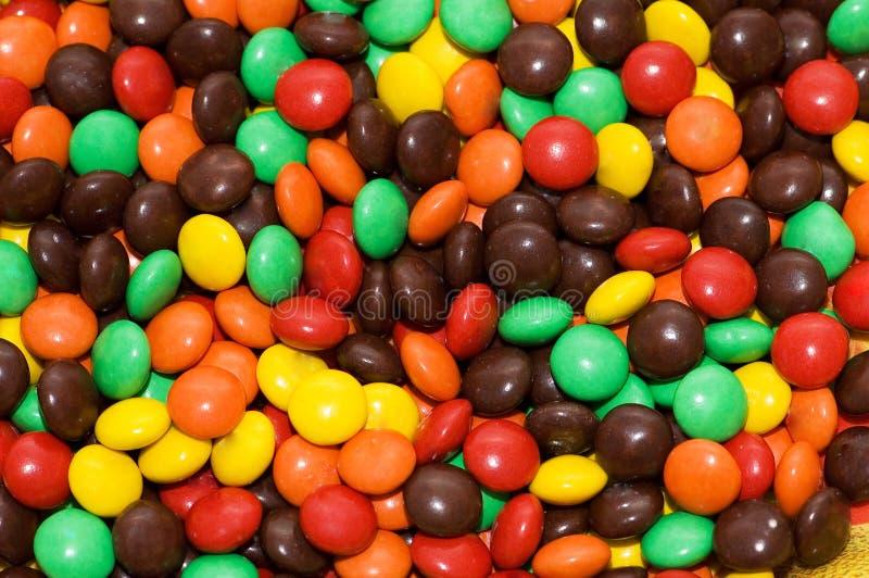 różnorodni cukierki fotografia stock