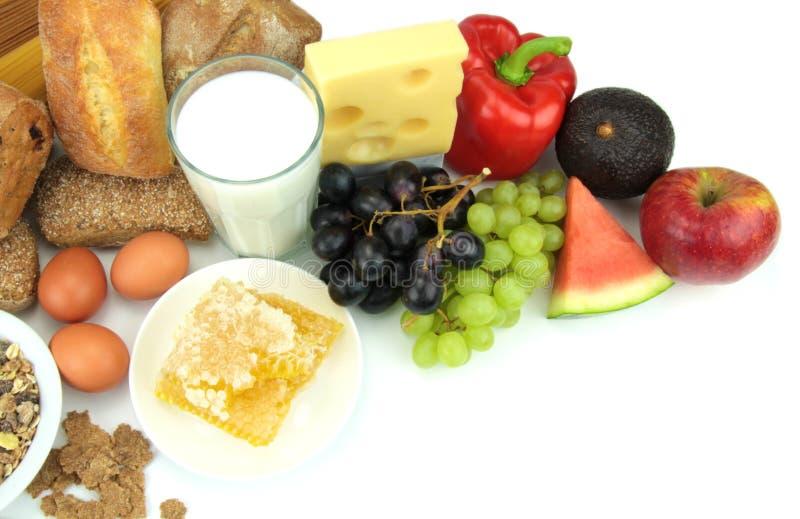 Różnorodni foods, fotografia royalty free