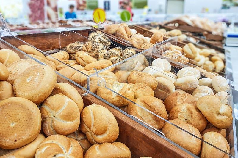 Różnorodni rodzaje chleb zdjęcia royalty free
