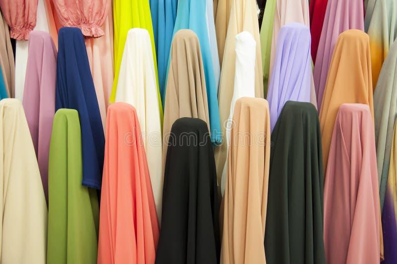 Różnorodni tkanina rygle fotografia stock