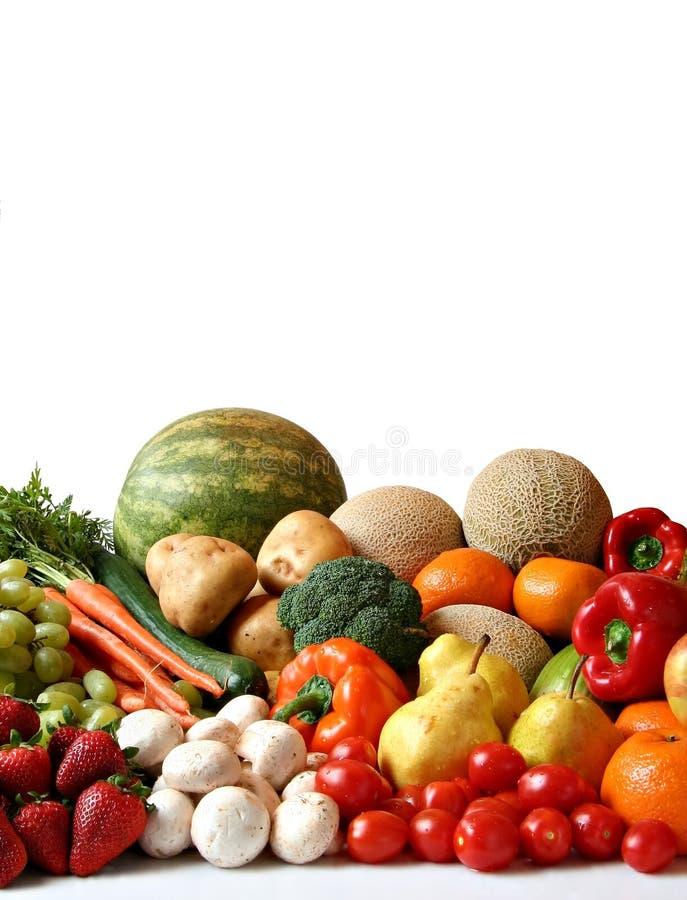 różnorodność owoców warzyw fotografia royalty free