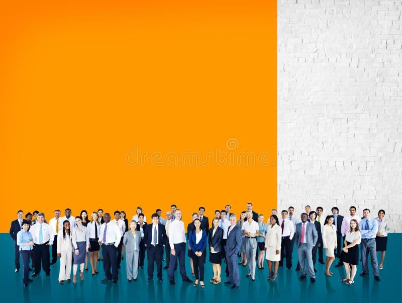 Różnorodności społeczności Korporacyjnego Drużynowego pojęcia ludzie biznesu obrazy royalty free