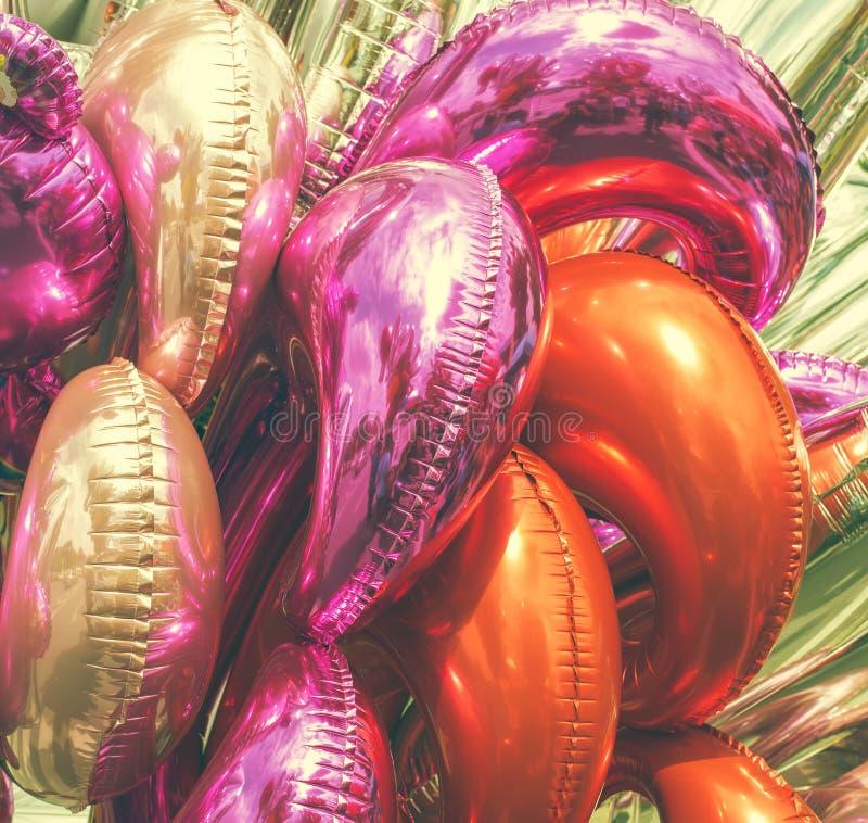 Różnorodny balon, abstrakcjonistyczny tekstury tło ilustracji