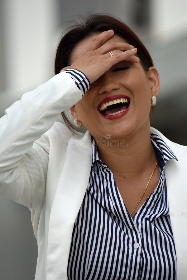 Różnorodny Biznesowej kobiety Śmiać się zdjęcie royalty free
