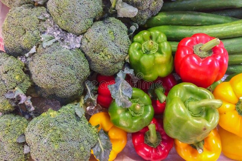 Różnorodny typ warzywa zdjęcie stock