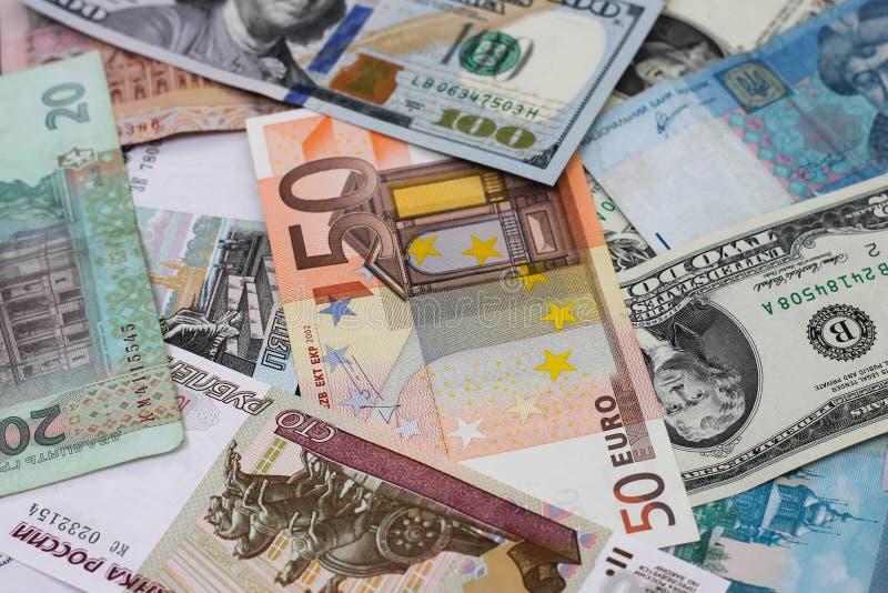 różny kraju pieniądze zdjęcia royalty free