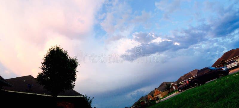Różny niebo fotografia stock