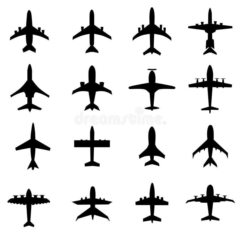 Różny Samolotowy wektor ilustracja wektor