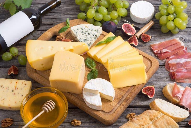 różny sera rodzaj fotografia stock