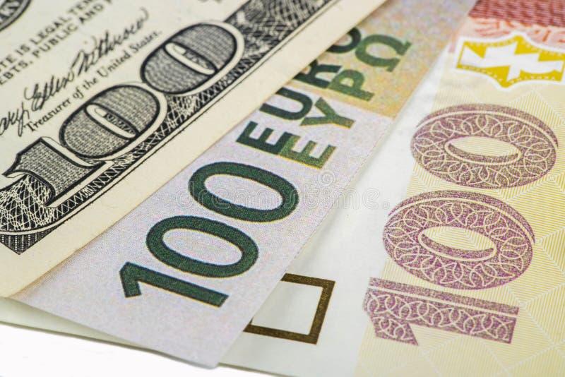 różnych walut zdjęcie stock