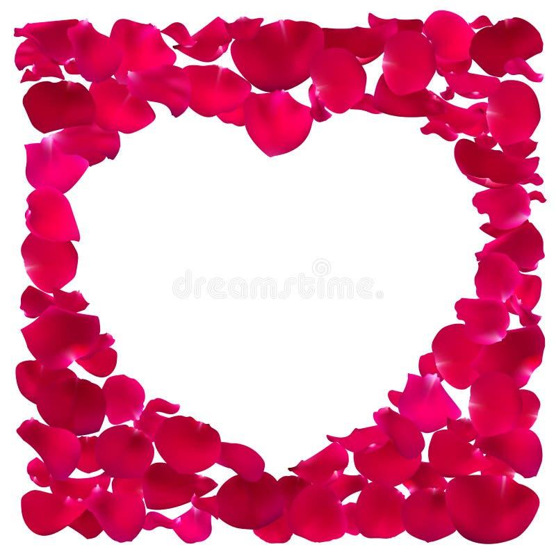 Różowa Kierowa kształt rama royalty ilustracja