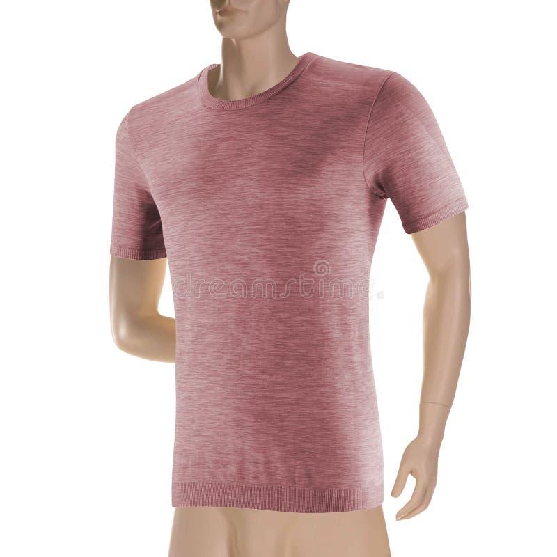 Różowa koszulka na mannequin zdjęcia stock