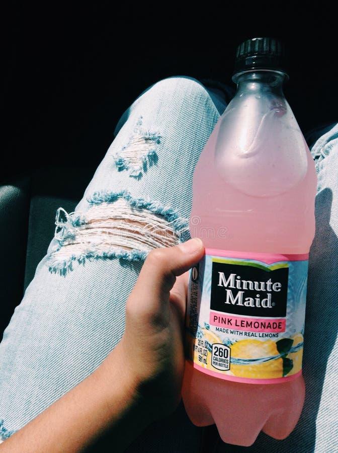 Różowa lemoniada zdjęcia stock