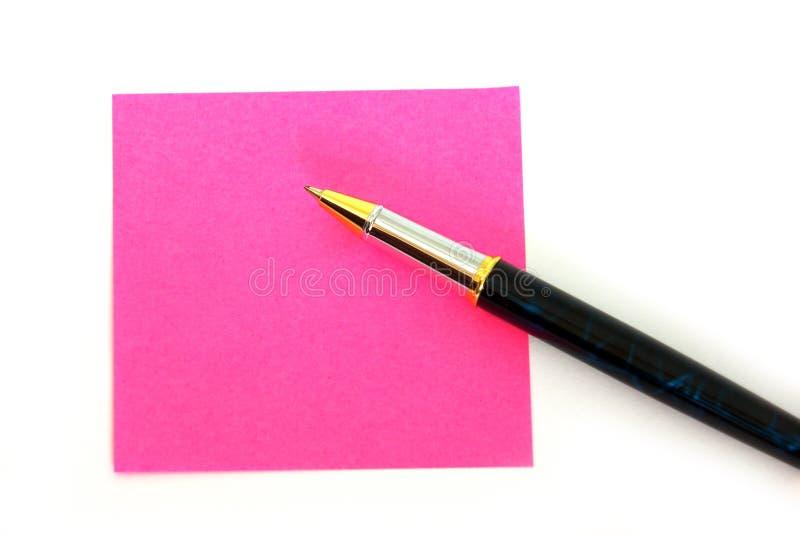 różowa poczta fotografia royalty free