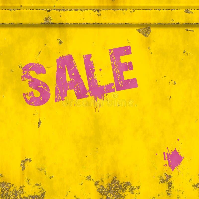 różowa sprzedaż royalty ilustracja