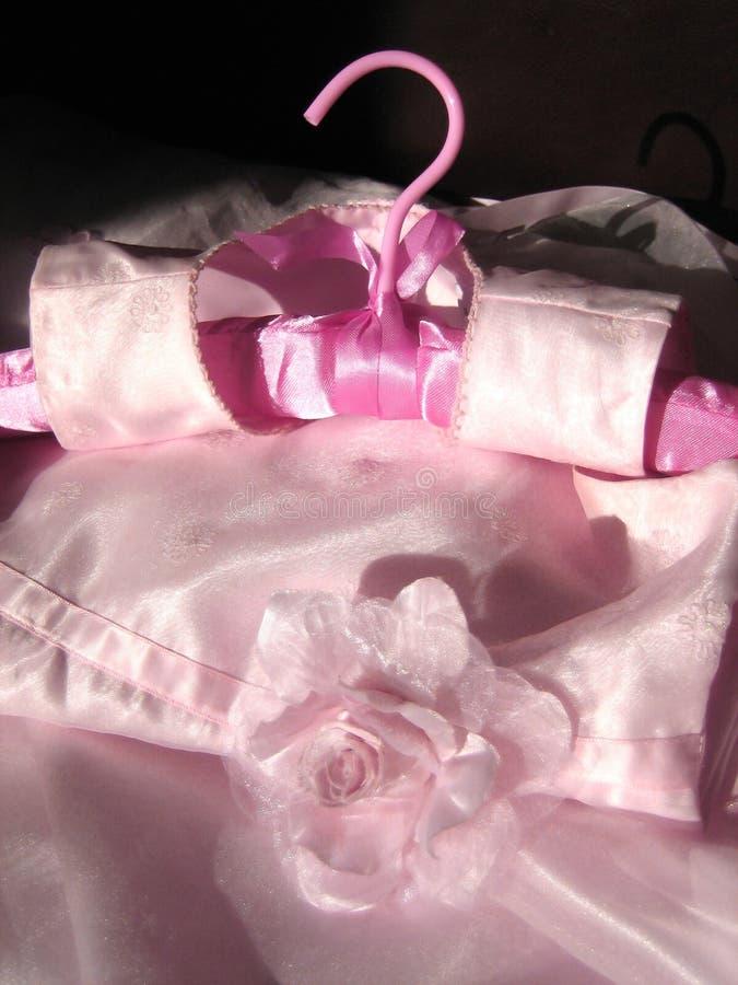 różowa sukienka dzieci obraz royalty free