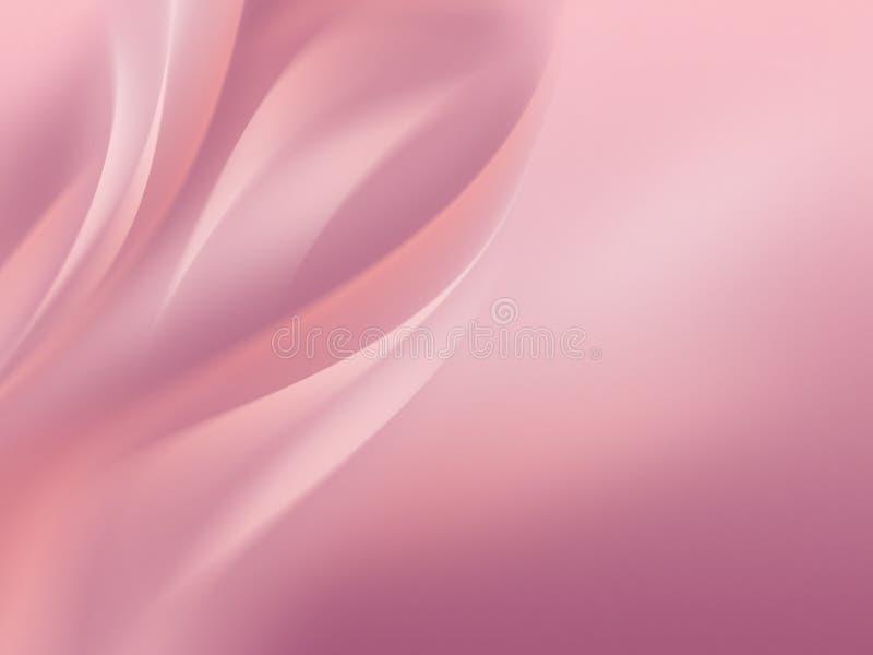 różowa tła miękkie royalty ilustracja