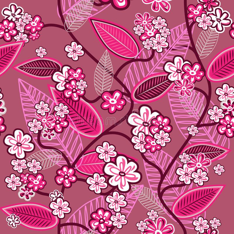 różowa tapeta ilustracji