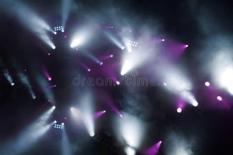 - różowe światło nagle show obraz stock