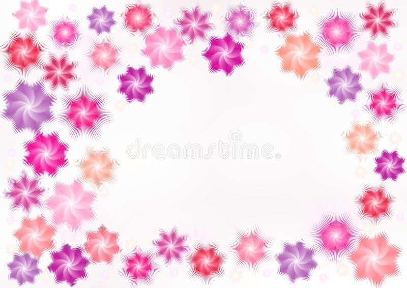 różowe gwiazdy obrazy royalty free